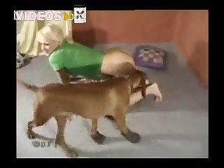 Public  Amateur Dog porn 73