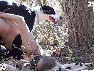 Sweet  Amateur Dog porn Booty 14